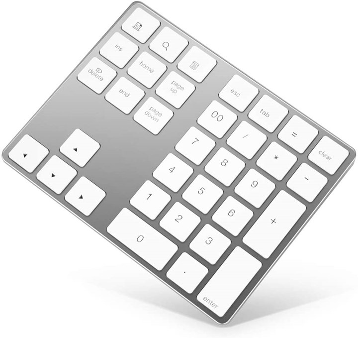 2020 Metalworking Holiday Gift Guide - Bluetooth Numeric Keypad