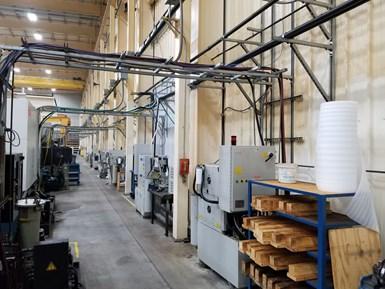 Burr Oak Tool cuenta actualmente con 30 máquinas-herramienta equipadas con sistemas de alta presión LNS ChipBlaster.
