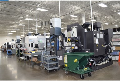 Ultra Machining Company's shop floor