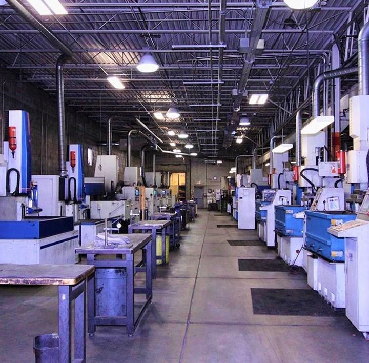 Princeton Tool shop floor