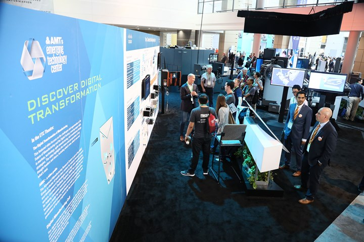 AMT Emerging Technology Center at IMTS2018