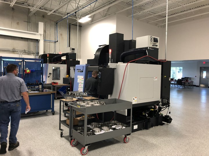 Wells Manufacturing shopfloor