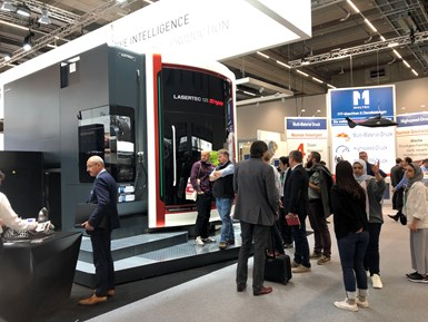 DMG MORI Lasertec 125 3D hybrid machine at Formnext