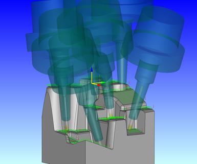 Screenshot from CAM-Tool CAD/CAM software