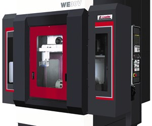 Enshu's WE30V Includes Device for Automatic Part Transfer