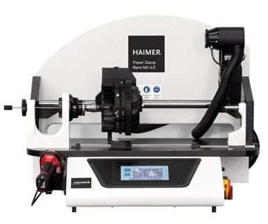 Haimer Power Clamp i4.0 NG coil shrinking station