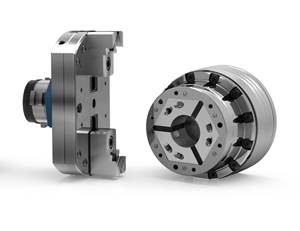 Hainbuch Modular Workholding System Offers Two-Jaw Module for Square Shapes