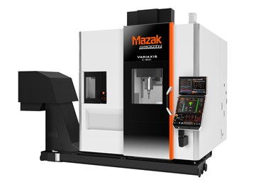 Mazak Variaxis C-600 five-axis machine to be debuted at virtual event on August 11.