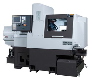 Tsugami Enhances B-Axis Swiss-Type Lathe with Larger Linear Guides