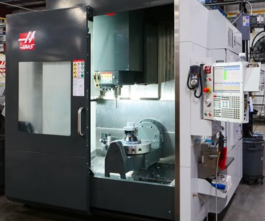 Haas five-axis machine