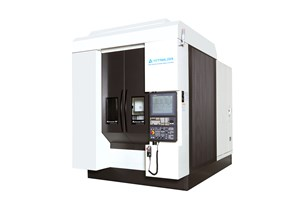 Kitamura's Five-Axis Machining Center Promotes Accuracy