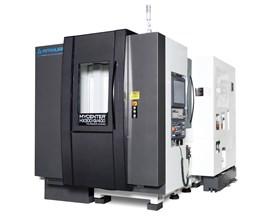 Kitamura's Mycenter-HX300iG 400 Combines Large Work Area in Small Footprint