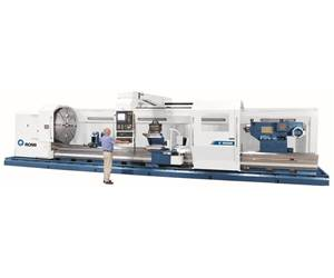 Romi's C-Series Lathes Accommodate Parts Weighing 110,000 lbs