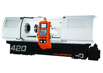 Kaast's C-Turn Teach-Style Lathes Feature Vibration-Damping Construction