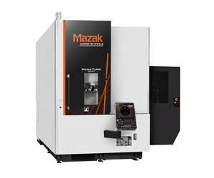 Mazak's Mega Turn 900M VTL Handles Large Cast Iron, Steel Workpieces