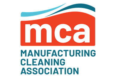 The logo for the Manufacturing Cleaning Association