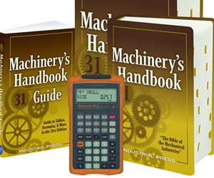 """Industrial Press Publishes 31st Edition of """"Machinery's Handbook"""""""