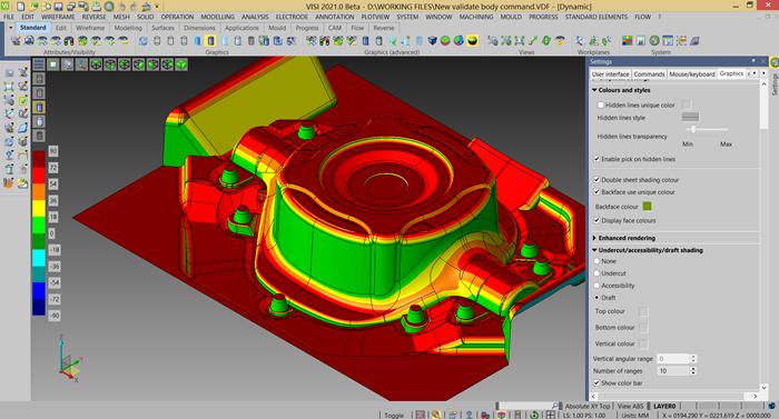 Hexagon VISI 2021 Improves CAD Analysis