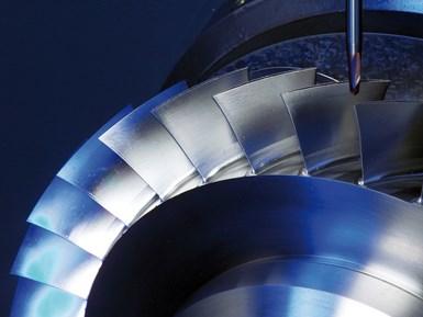 Los blisks para las turbinas de las industrias energética y aeroespacial requieren mucho tiempo y resultan propensos a ser reprocesados, lo que los convierte en candidatos ideales para la compensación de vibraciones casi en tiempo real.