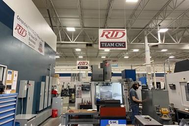 RTD shop floor