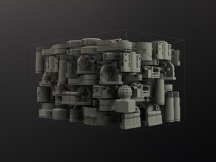 3D-modeled parts