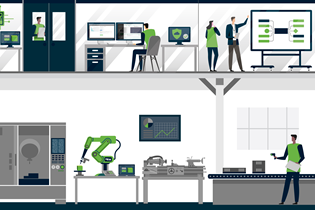 shop floor using various aspects of machine connectivity