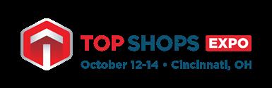 Top Shops Expo的标志。