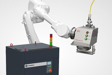 A photo of Coherent and II-VI's turnkey automotive laser welding solution
