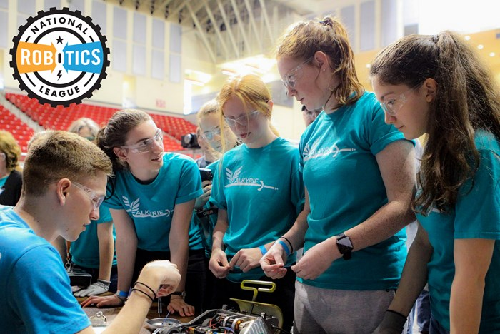Big Kaiser Donates to National Robotics League