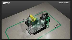 全新的MT3 -用于磨削,铣削和车削