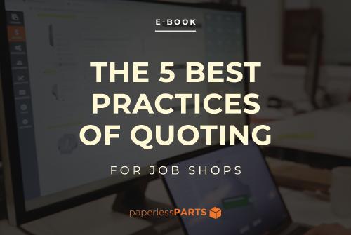 Job Shop Quoting