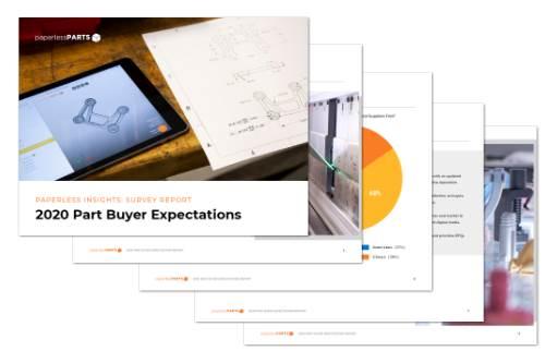 2020 Part Buyer Expectations Survey Report