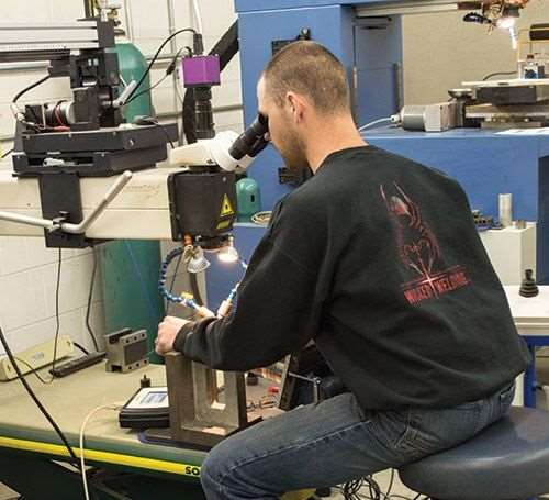 Laser equipment for mold repairs and engineering changes