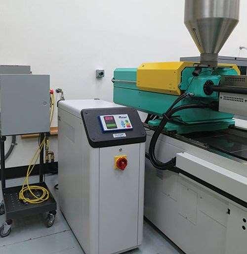 Microgel chiller/temperature control units