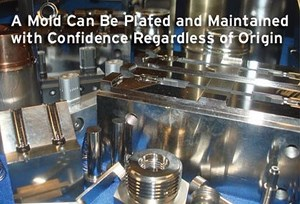 Taking the mystery out of surface treating injection mold tooling inherited with no documentation.