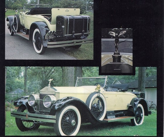 1926 Rolls-Royce Picadilly Roadster