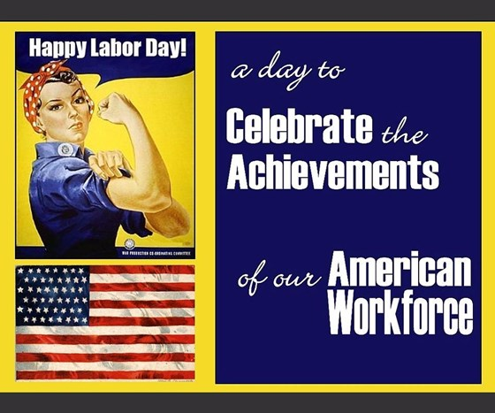 Labor Day and Rosie the Riveter