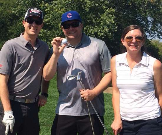 Participants at the iWarriors inaugural golf outing fundraiser 2017