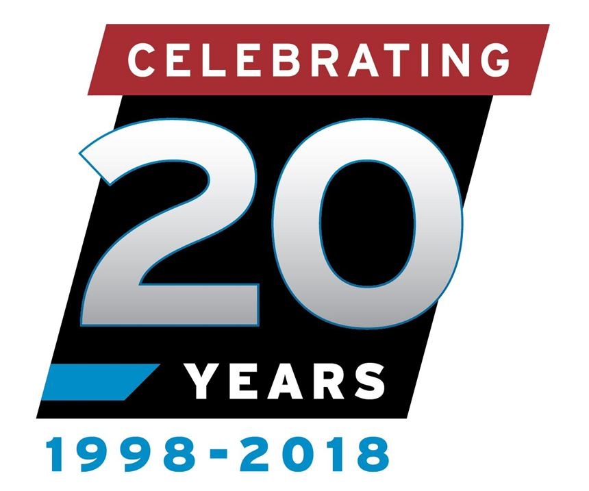 MoldMaking Technology 20-year emblem.