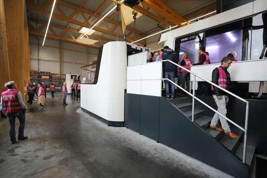 DMG Mori machine at Schweiger