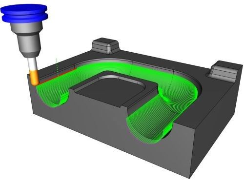 Surfaced based CAD CAM software from BobCADCAM