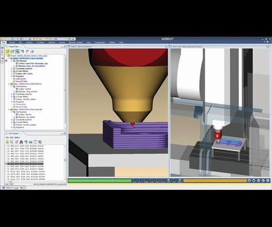 Example of emerging simulation software for moldmaking