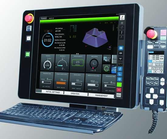 Mitsubishi M800 EDM control
