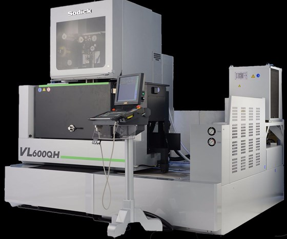 Sodick Inc. VL600QH EDM machine