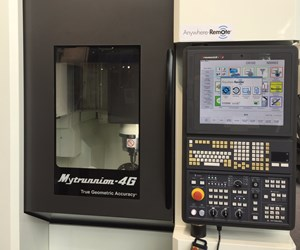 Kitamura's Anywhere-Remote on Kitamura Mytrunnion 4G machining center
