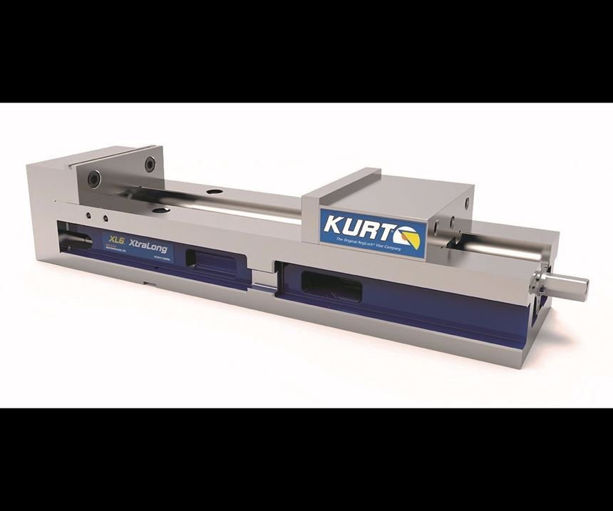 Kurt Manufacturing Solutions XL6 XtraLong vise