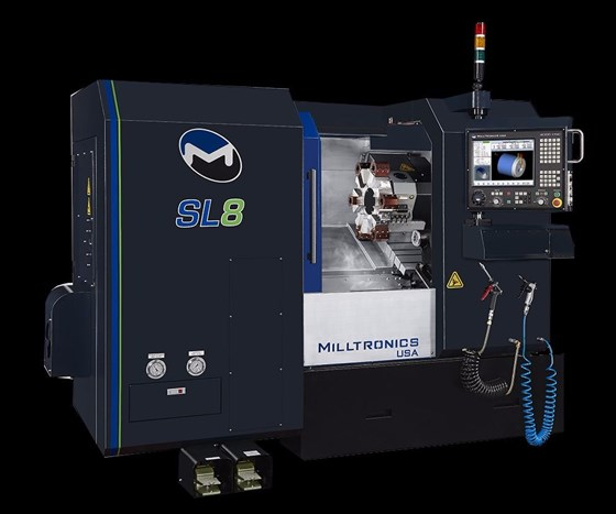 SL8-II turning machine from Milltronics