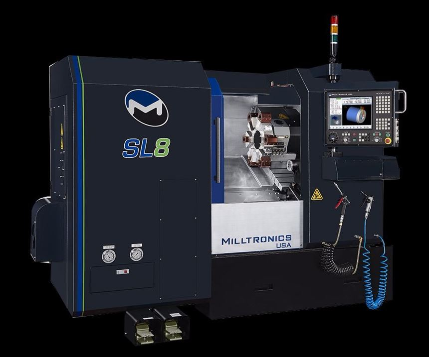 SL8-II turning machine from Milltronics