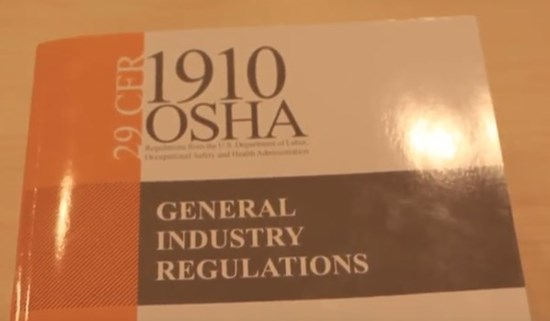 OSHA rules for compliance by SCT