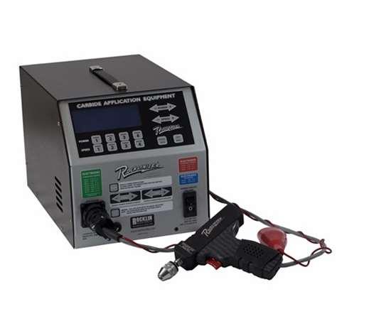 Rocklinizer carbide application equipment